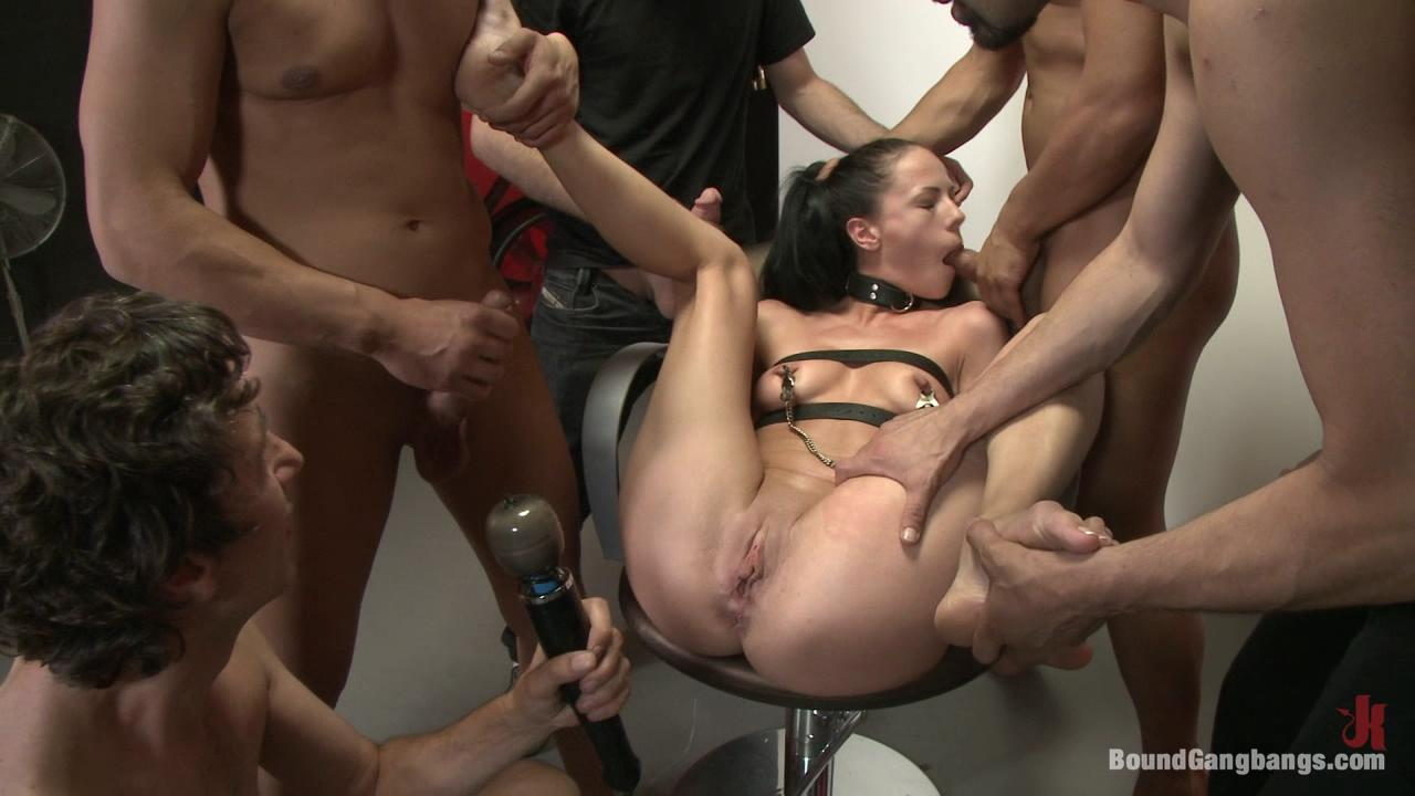 image Extreme violently banged bdsm pornstar with r
