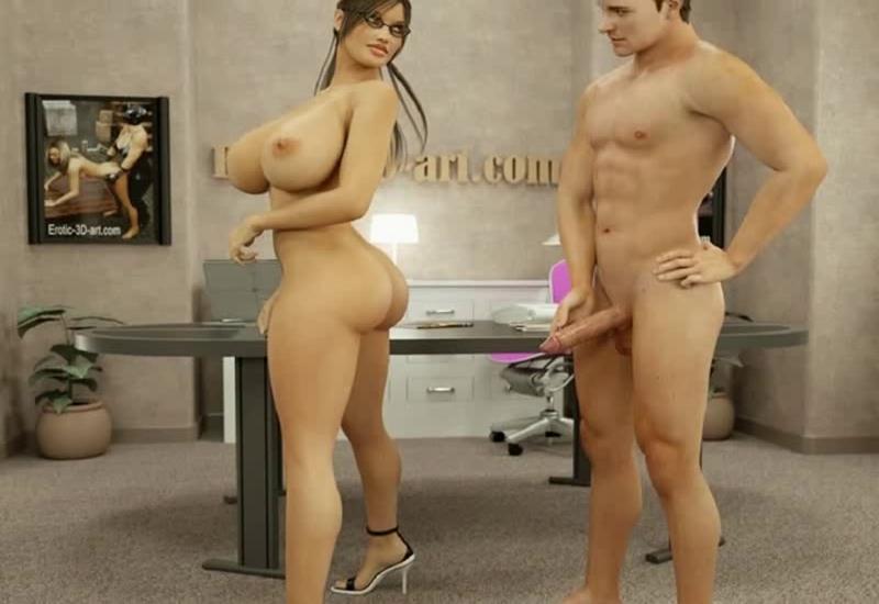 Big tits porno anal