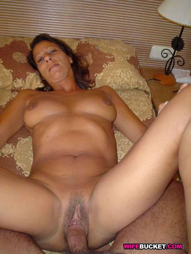 Short black hair milf