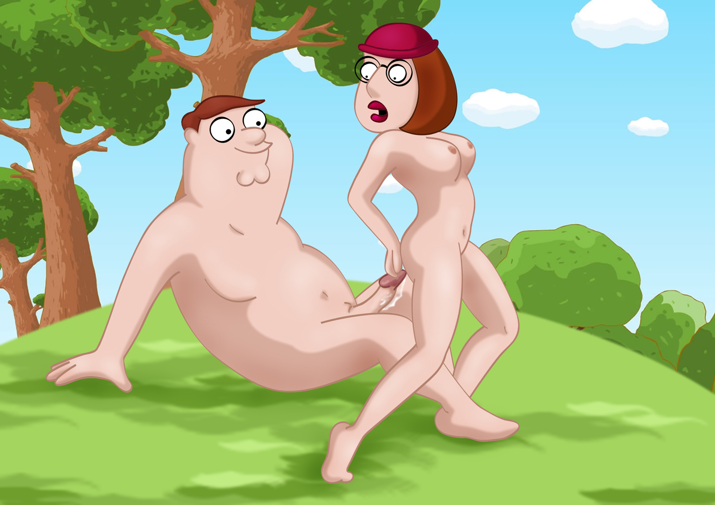 Charming message family guy having beach sex