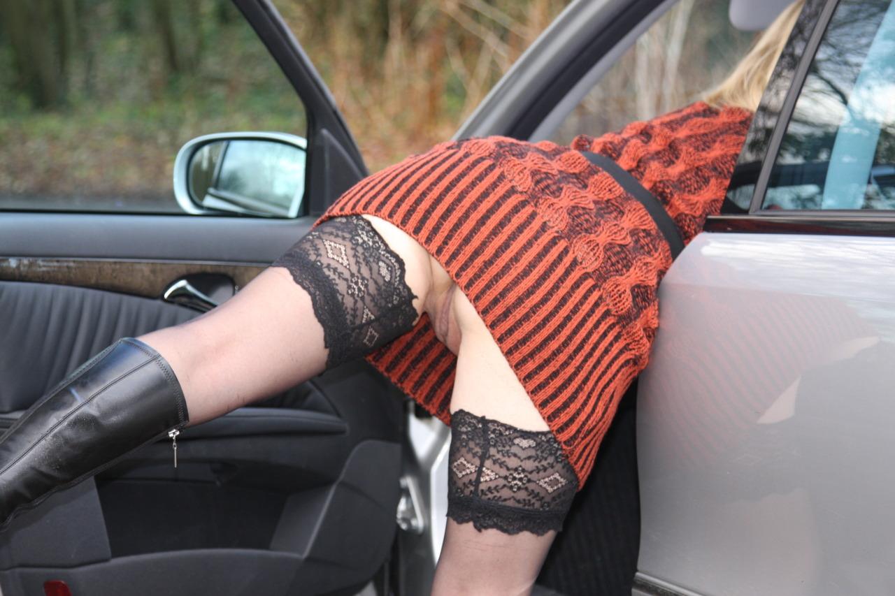 car upskirt