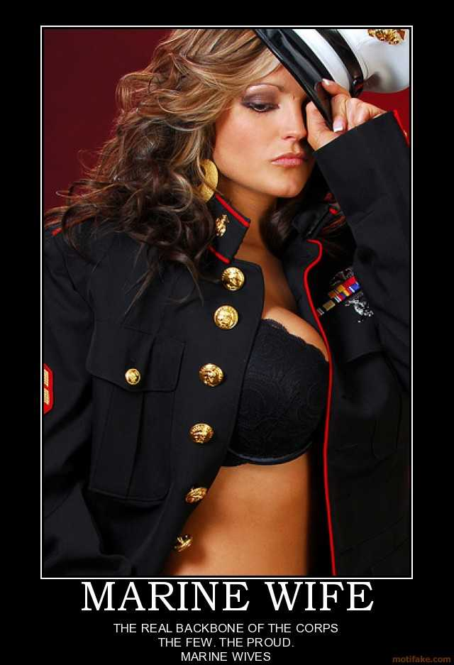 wifes hot pictures that wife army poster marine something demotivational marines occured