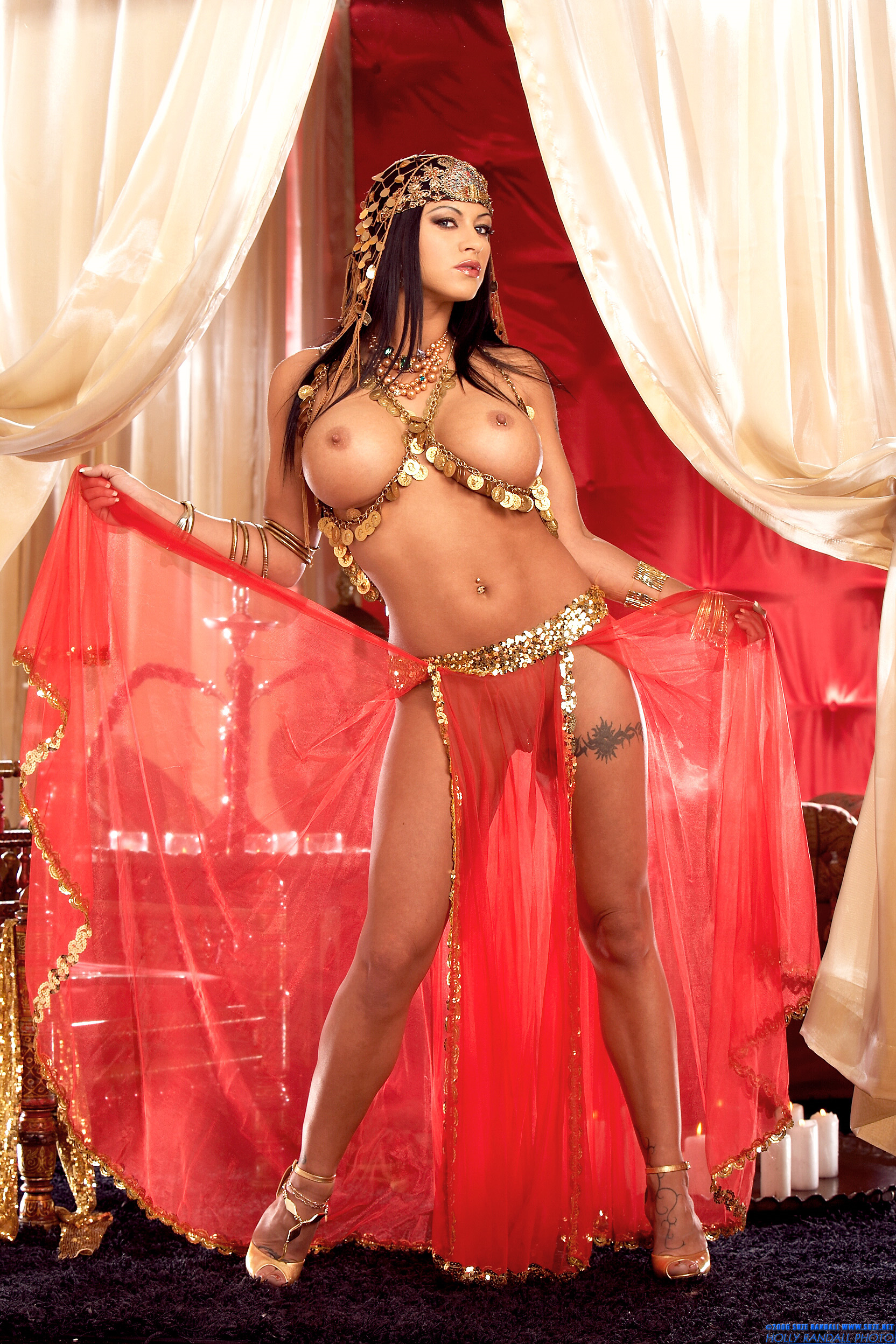Topless Belly Dance.