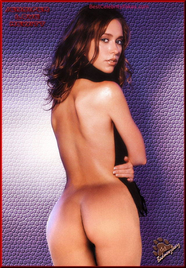 Naked Ass Best Celebrity Jennifer Love Pictures Fake Fakes Yovo Hewitt