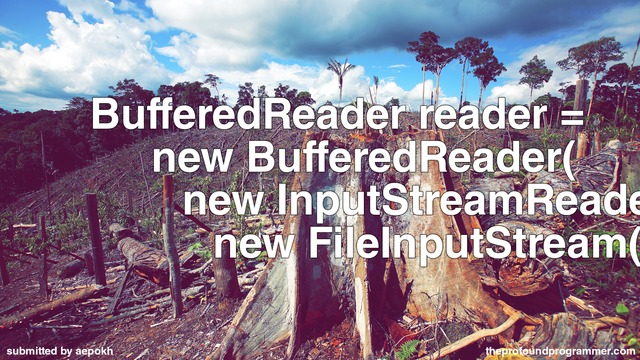 filename.txt jwfeo text bufferedreader reader