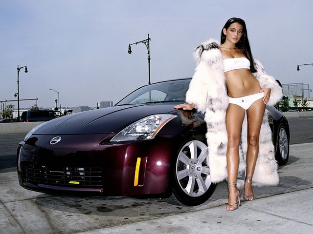 fuck hardcore nissan porn pussy babes girls hot girl car nissan