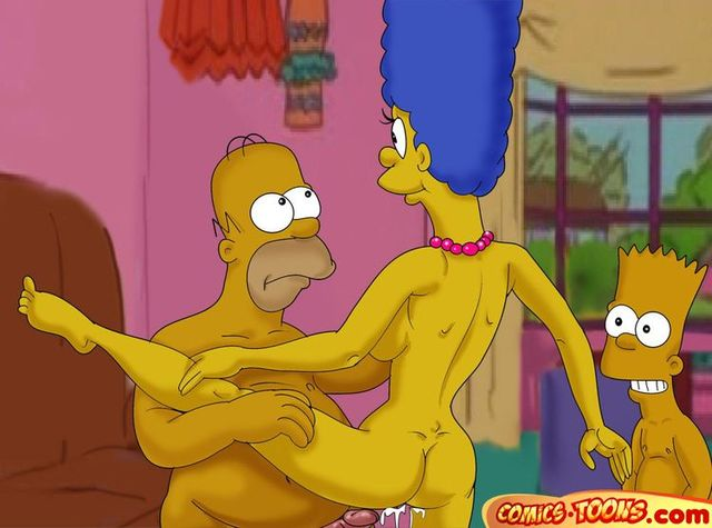 hardcore cartoon sex porn porn cartoon simpsons