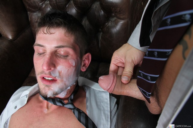 hardcore cum facials cum young huge gets gay facial massive takes shane