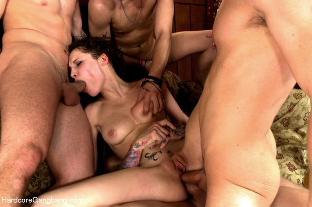 hardcore gang sex hardcore anal double penetration gaping posts group gangbang vaginal gang bang nikita bellucci