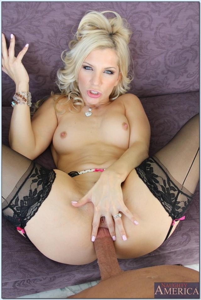 cougar lingerie milf Blonde
