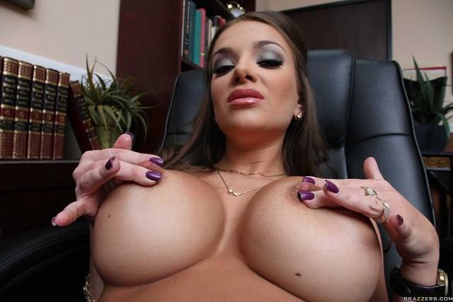 Tits at the office