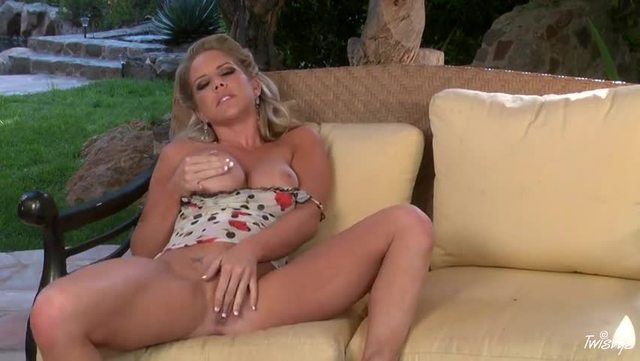 ainsley addison hardcore blonde busty toy loves glass addison ainsley enchanting