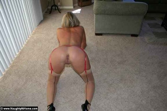 2 sexy blond stocking amp high heel femdom ball busters 7
