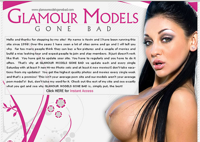 kagney linn karter hardcore page models bad gone glamour