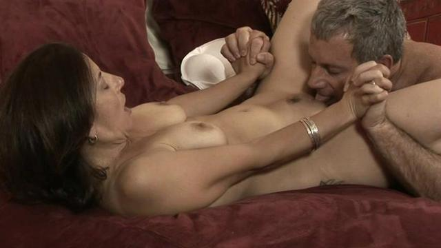 Beautiful housewives showing breast