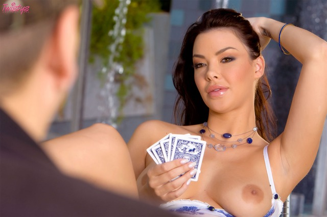 sophia santi hardcore girls playing sophia strip poker santi