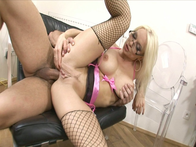 stacy silver hardcore busty stacy secretary fishnets silver