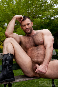 Hardcore Ass Porn aaron cage gay hardcore porn star muscle bear hairy huge pecs bottom ass jockstrap colt studio group gruff stuff brenden fucking sucking masculine woof alert