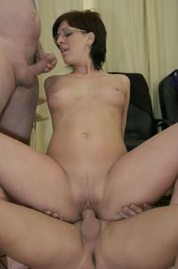 Hardcore Brunette Porn Star young pussy