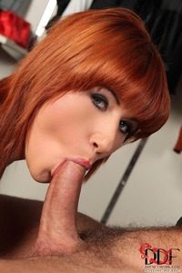 Hardcore Porn Redhead onlyblowjob redhead lucy bell giving blowjob