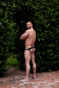Porn Star Group Hardcore aaron cage gay hardcore porn star muscle bear hairy huge pecs bottom ass jockstrap colt studio group gruff stuff brenden fucking sucking masculine woof alert