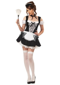 Xxx Hardcore Young Porn sexy french kiss maid costume zoom bikini little