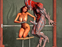Babes Fucking Photo dmonstersex scj galleries hot anime babes fucking demons
