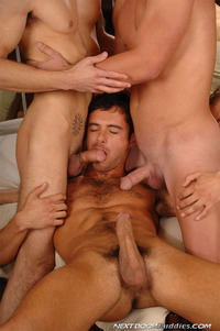 Big Dicks Hardcore Porn porn gay free fourway donny wright dylan hauser james jamesson patrick rouge hardcore action hot fucking sucking group dicks hard cocks