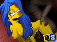 Cartoon Fucking Hardcore galleries lisa simpson gangbanged pic