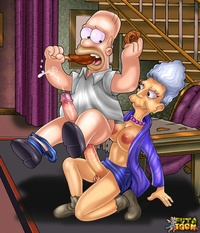 Cartoon Hardcore Sex abb tranny cartoons from springfield