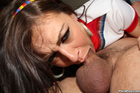 Cheerleader Sex Pix gthumb xxxpics deepthroatlove hot cheerleader whore sucks pic