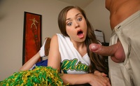 Cheerleader Sex Pix horny cheerleader fucked