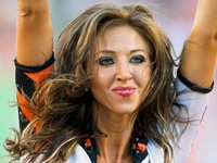 Cheerleader Sex Pix made sports nfl sarah jones bengals cheerleader center former