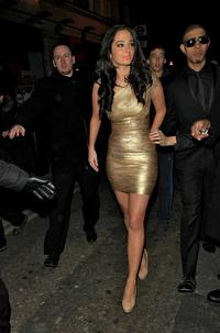 Dress Upskirt Pics photos thexfactor tulisa contostavlos leaving factor wrap party london dec gold dress upskirt net gallery