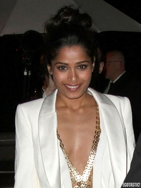 Dress Upskirt Pics freida pinto sexy dress upskirt loreal party cannes photos size