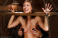 Hardcore Abused Porn pics galleries hardcore bdsm session fetish model rilynn rae being abused wax