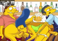Hardcore Cartoon Sex Pics cartoonreality simpsons hardcore sexy comics