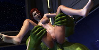 Hardcore Forced Anal Sex dsexpleasure scj galleries forced anal fuck green alien monster cute sexy whore