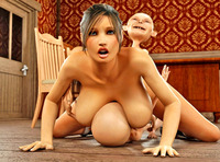 Hardcore Gallery Pictures dmonstersex scj galleries busty girl getting double penetrated little gnomes hardcore gallery