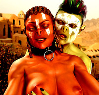 Hardcore Interracial Sex dmonstersex scj galleries evil orc babes adore hardcore interracial monsters