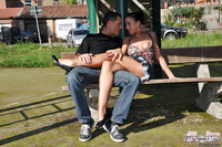 Club Fuck Hardcore Porn Pussy Sams pics slutty teen babe dries gets pussy fucked hardcore outdoor