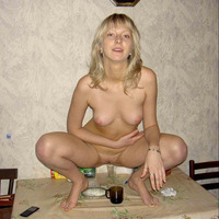 Hardcore Russian Sex blond russian beauty getting herself drunk before hardcore action