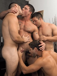 Hot Hardcore Gangbang boys night out eric pryor gangbang randyblue paul wagner derek atlas caleb strong fucking sucking group fourgy rimming kissing muscular masculine hairy asses blowjob hardcore xxx action hot that its scary pryors mini