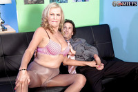 Old Ladies Hardcore pics pictures seductive granny bethany james sucks fucks hard white dick