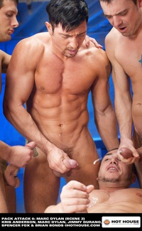 Porn Pics Gang Bang marc dylan pack attack hot house gay porn gangbang bukkake group orgy manages make oral interesting