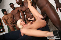Porn Pics Gang Bang media original kacey villainess gangbang interracial