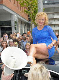 Public Upskirt Photo geri halliwell hairy upskirt factor liverpool