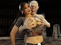 Sex Pics With Big Tits dmonstersex scj galleries hot brunette tits old vampire have together