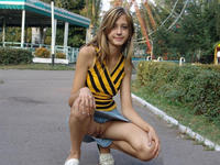 Upskirt Pictures In Public hot upskirt katrinas pantyless sitting