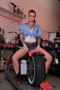 Christy Mack Hardcore large hxox barelist brazzers busty christy marks garage hardcore moto pierced navel shaved tattoo